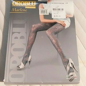 🆕 Black lace tights from Nordstrom size large